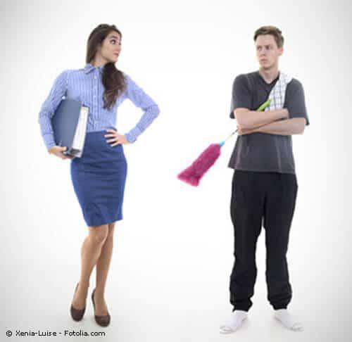 Rollentausch zwischen Frauen und Männern