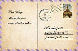 Postekarte von FemalExperts